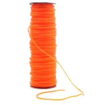 100 Mtr. Springseil orange transparent 4 mm o