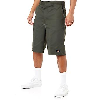 Dickies Olive Green Multi-Pocket - 13 Inch Workshorts