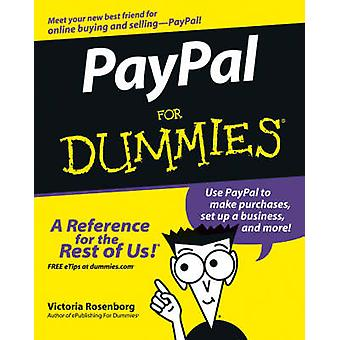 PayPal For Dummies by Victoria Rosenborg - Marsha Collier - 978076458