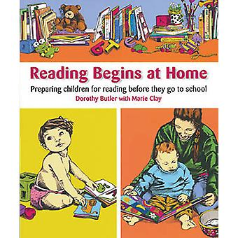 Reading Begins at Home by Marie M. Clay - 9781407160061 Book