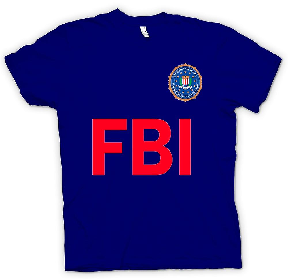 Mens t-shirt - FBI USA - polizia