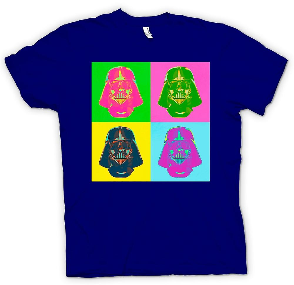 Herren T-Shirt - Darth Vader - Star Wars - Warhol