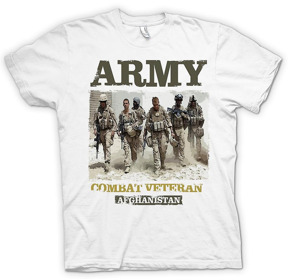 Mens t-skjorte - hæren kamp Veteran - Afghanistan