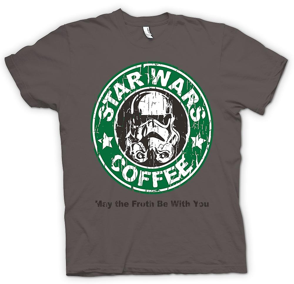 Mens T-shirt - Star Wars Coffee - Stormtrooper