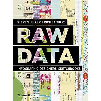 Rohdaten - Infografik Designer Skizzenbücher von Steven Heller - Rick