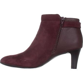 Alfani Womens Viollet Suede Suede Closed Toe Ankle Fashion Boots
