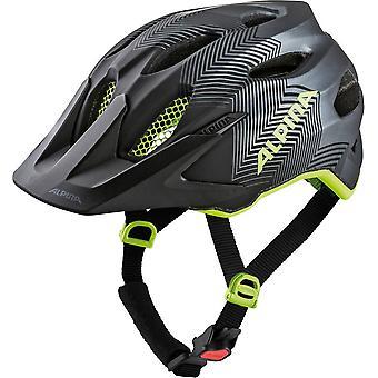 Alpina carapace JR Kids helmet / / black/neon yellow