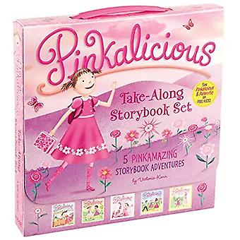 The Pinkalicious Take-Along Storybook Set: 5 Pinkamazing Storybook Adventures