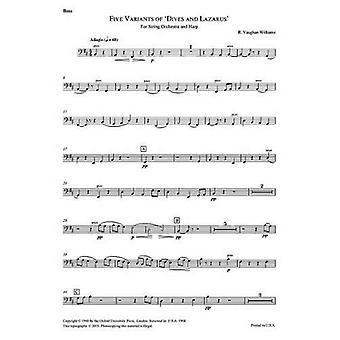 Cinq variantes sur «Dives and Lazarus»: contrebasse