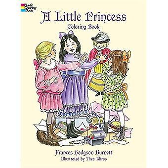 En liten prinsessa målarbok