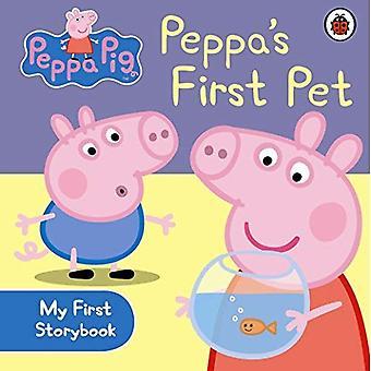 Peppa Pig: Peppa est tout d'abord caresser mon premier livre de contes