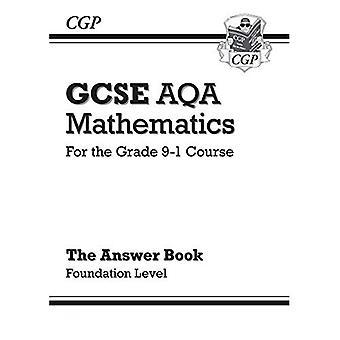 GCSE matematik AQA svarar för arbetsbok: Foundation - för kursen årskurs 9-1