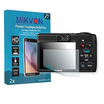 Canon PowerShot A1300 Screen Protector - Mikvon Armor Screen Protector (Retail Package with accessories)
