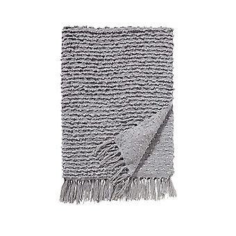 Damai plaid 130 x 170 cm luxor grey