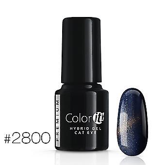 Gel Polish-kleur het Premium-Cat Eye-* 2800 UV gel/LED