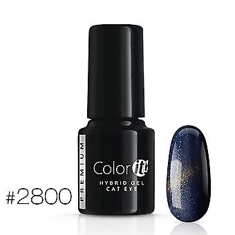 Gel Polish-Color IT Premium-Cat Eye-* 2800 UV gel/LED