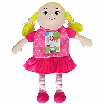 Kids Cute Novelty 1L Hot Water Bottle: Rag Doll