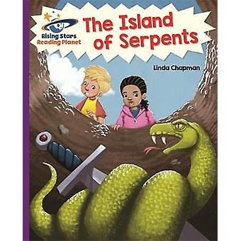 Reading Planet - The Island of Serpents  - Purple - Galaxy by Linda Ch