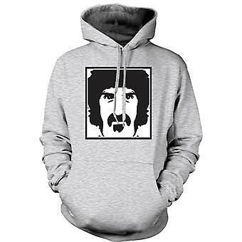 Mens Hoodie - Frank Zappa Portrait - Music