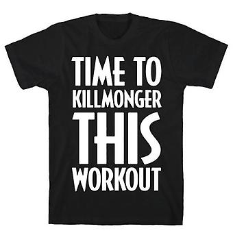 Time to killmonger this workout t-shirt