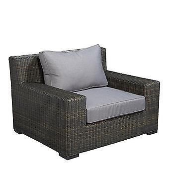 Flughafen7 | Isla Margarita Lounge Stuhl |  Schwarzgold | Gartenstühle