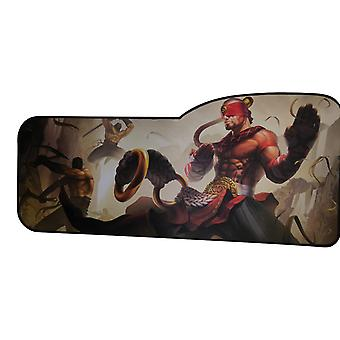 Lee Sin Leugue of Legends XL E-Sport Keyboard mouse pad, 73x33/28cm