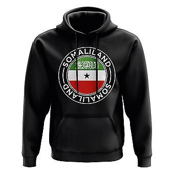 Somaliland Football Badge Hoodie (Black)