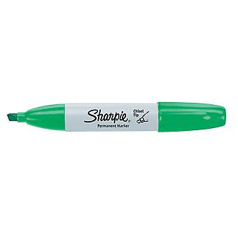 Sharpie Chisel Tip Permanent Marker Open Stock-Green 38284