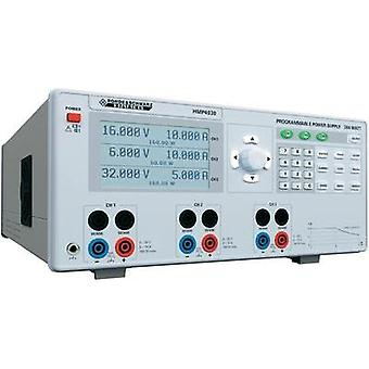 Bench PSU (adjustable voltage) Rohde & Schwarz HMP4030 0 - 32 Vdc 0 - 10 A 384 W USB , RS232 OVP, programmable No. of ou
