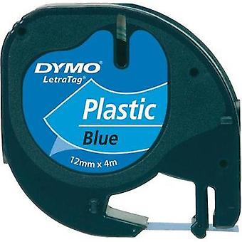 Labelling tape DYMO 91225 Tape colour: Ultra blue Font colour:Black 12 mm 4 m