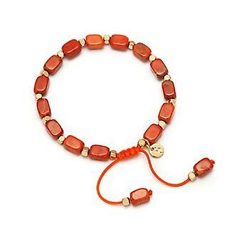 Lola Rose Starla armbånd brand Orange magnesit