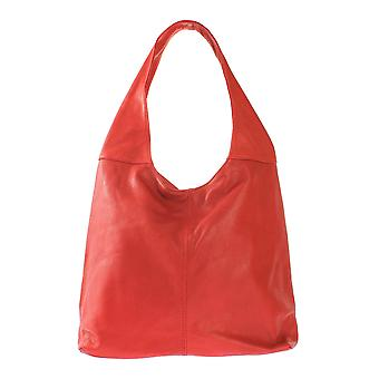 CTM Borsa a spalla da donna in vera pelle made in italy
