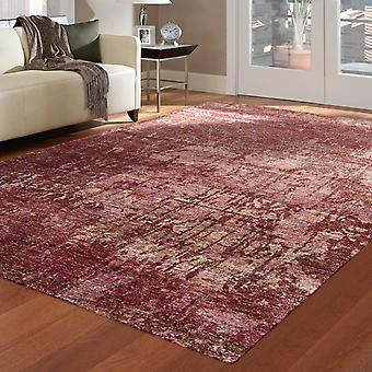 Silk Shadows Rugs Sha10 In Wine