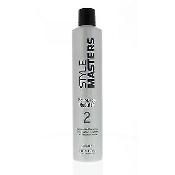 Revlon Style Masters Hairspray Modular 2 Medium Strong Hairspray