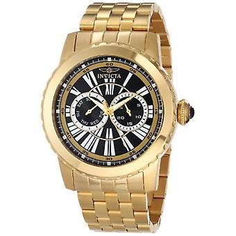 Invicta Men's 14589 Specialty Analog Display Swiss Quartz Black Watch