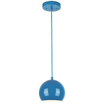 Westinghouse One Light Pendant High Gloss Blue
