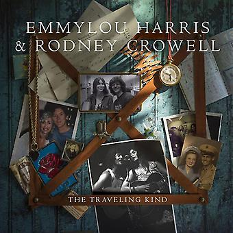 Harris, Emmylou / Crowell, Rodney - Traveling Kind [Vinyl] USA import