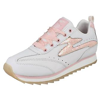 Mädchen-Tec Lace Up Trainer Vegas Candy