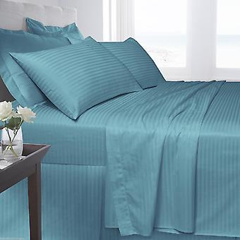 Egyptian Cotton Satin Stripe 250 Tread Count Pillow Case