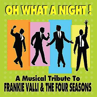Oh hva en natt! en musikalsk hyllest til Frankie Vall - Oh hva en natt! en musikalsk hyllest til Frankie Vall [DVD] USA importere