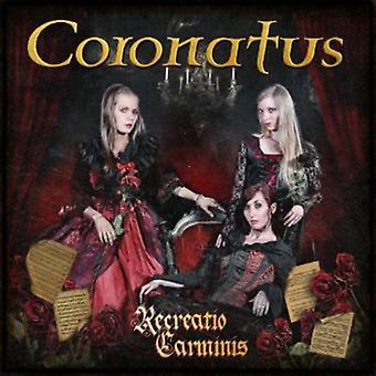Coronatus - Recreatio Carminis [CD] USA importerer