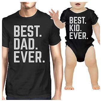 Najlepszy tata i dziecko kiedykolwiek Black śmieszne ojców dzień prezent pomysł na nowy tata
