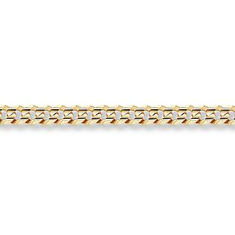 14K Gold 6mm Curb Bracelet