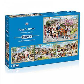 Гибсонсе Rag & Кости - 4 X 500 кусок головоломки