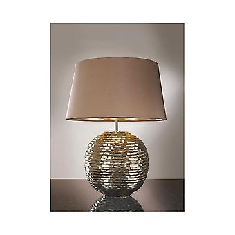 Luis Collection Caesar Gold Table Lamp