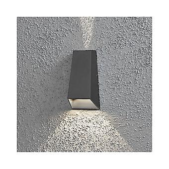 Konstsmide Imola Aluminium Wall Effect Light