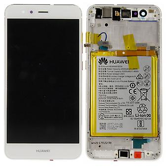 Huawei display LCD unit + frame for P10 Lite Service Pack 02351FSC white