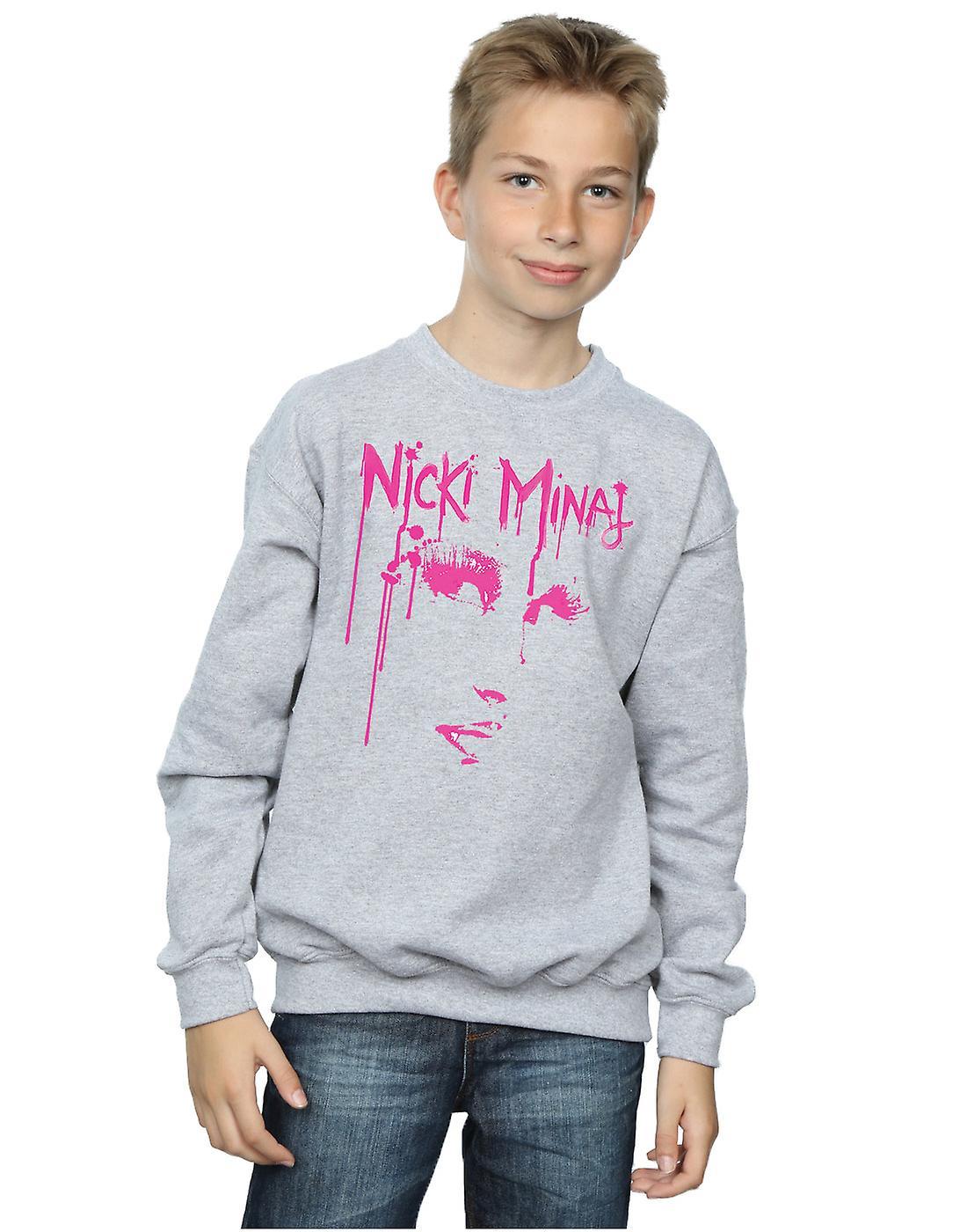 Nicki Minaj Boys Face Drip Sweatshirt