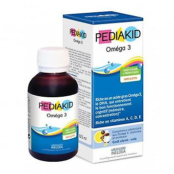 Ineldea Pediakid Omega 3 Syrup 125ml. (Vitamins & supplements , Omegas & fatty acids)