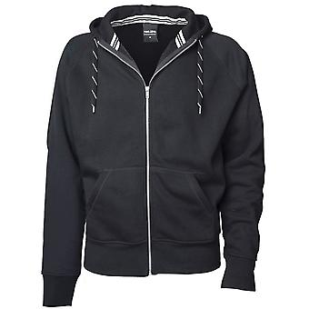 Tee Jays Mens Full Zip Hooded Sweatshirt